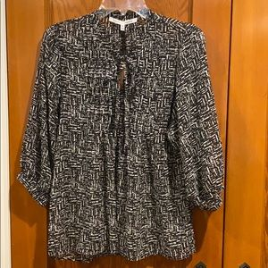 Collective Concepts Black and White blouse - NWT